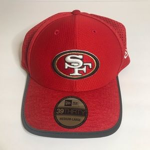 SF 49ers New Era 39 Thirty Hat New